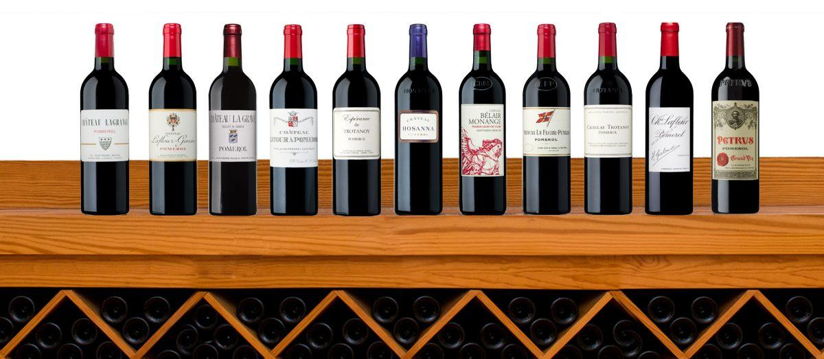 Une sélection de vins exclusifs